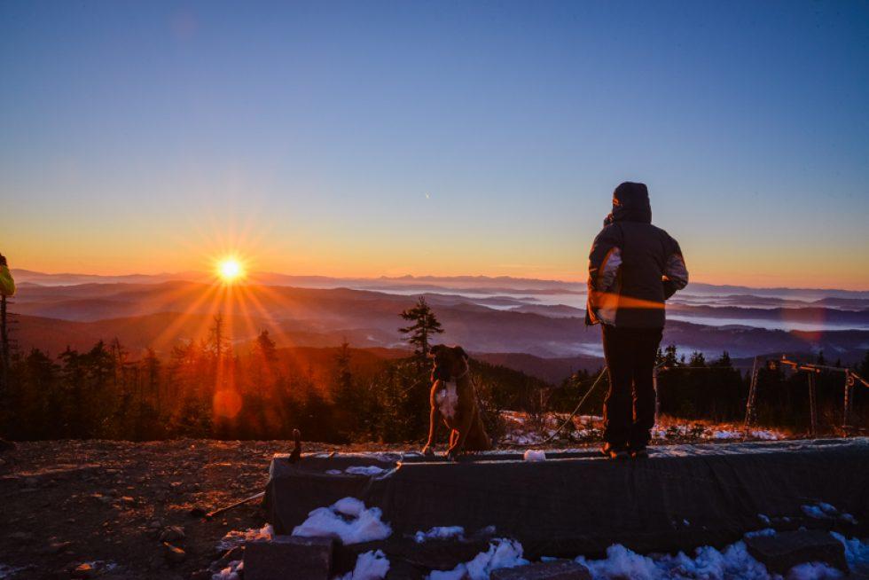 Svítání na Lysé Hoře – 27.10.2014