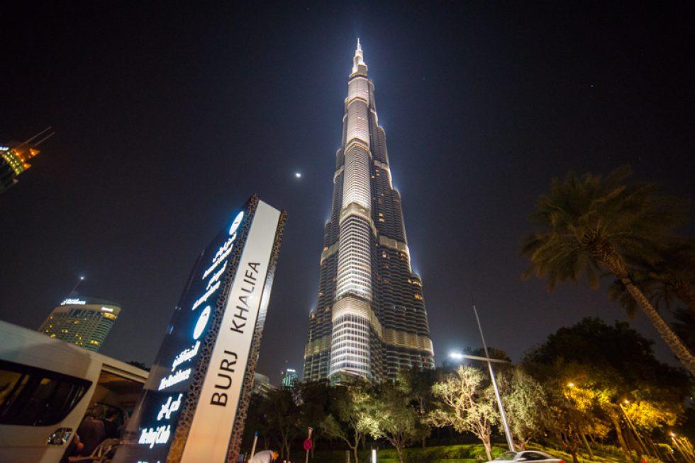 Noční Dubaj – 11. 11. 2017